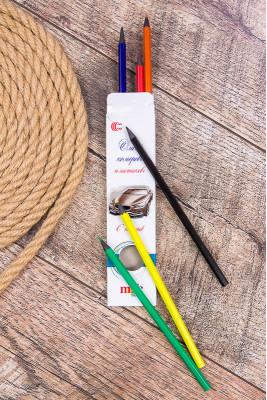 Набор цветных карандашей 6 цветов