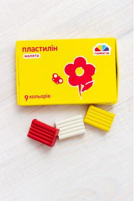Пластилин 9 цветов