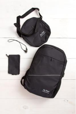 Рюкзак 3 в 1 (черный)