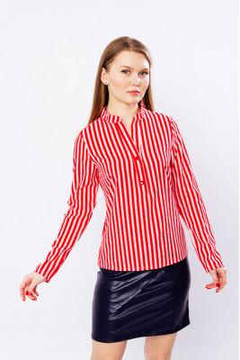 Рубашка женская в полоску