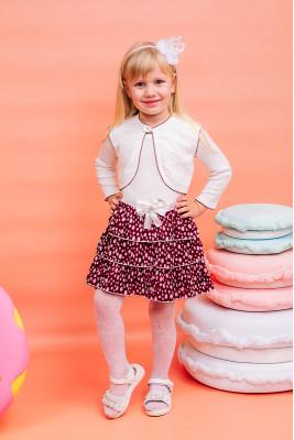 Нарядное платье для девочки с болеро