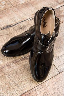 Туфли для мальчика (на застежке)
