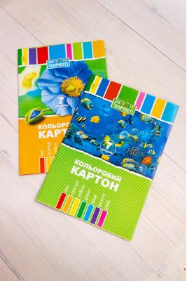 Цветной картон 7 листов