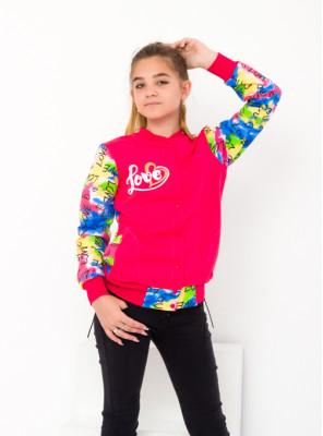 Бомбер для девочки (подростковый)