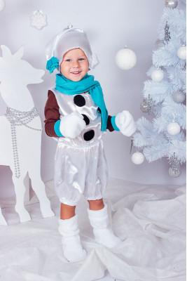 """Новогодний костюм """"Снеговик"""""""