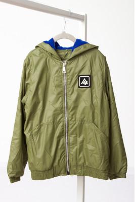 """Куртка-ветровка для мальчика """"Хаки"""""""