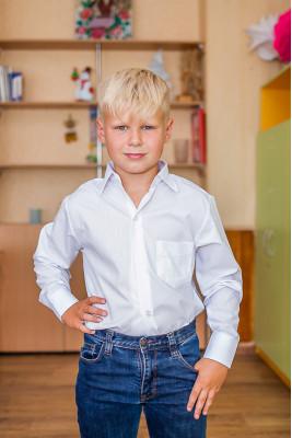 """Рубашка для мальчика """"Школьная"""""""