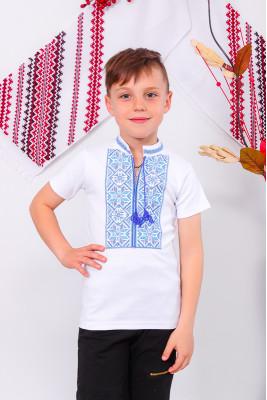 Вышиванка для мальчика с кор. рукавом